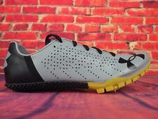 Mens Under Armour Kick Sprint 2 3020350-101 Grey Black Running Shoes