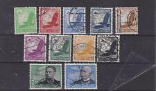 germany 1934 Sc C46/56 air stamps,set used      m2069