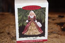 Hallmark Christmas Keepsake Ornament Holiday Barbie 1996