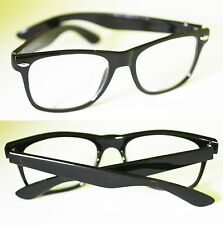Screen GLASSES NO GLARE Computer TV ANTI FATIGUE No RX  Black Frame