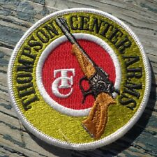 """Thompson Center Arms Red Green Rifle Gun 4"""" Detailed Heavy Embroidered Patch"""