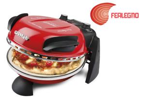 FORNETTO FORNO PIZZA CON PIETRA REFRATTARIA 400 GRADI ROSSO G3 FERRARI