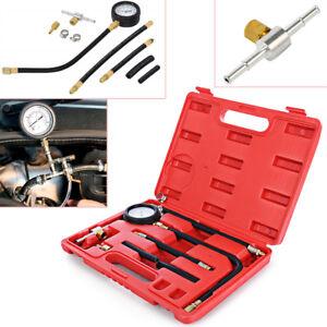 0-100PSI  0-7 bar Fuel Injection Pump Injector Tester Petrol Test Pressure Gauge