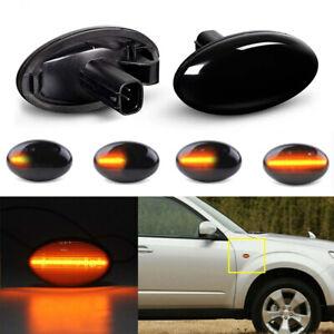 For Subaru Liberty Forester Impreza Wrx Sti 02-07 Dynamic LED Side Marker Lights