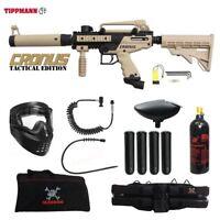 Tippmann Maddog Cronus Tactical Specialist Paintball Gun Package Tan