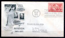 USA - 1953 50 years powered flight -  Mi. 640 FDC