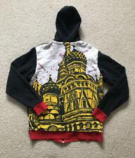 REEBOK ROLLAND BERRY Zip Up Men's Warm Up Jacket Hoodie Sz Medium