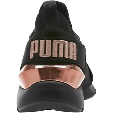 SOLD OUT PUMA MUSE BLACK ROSE TRAINERS SOFT STRETCH 37 4 BLOGGERS CELEB FAB COND