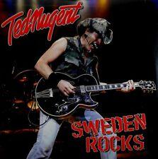 TED NUGENT - SWEDEN ROCKS CD ~ STRANGLEHOLD~CAT SCRATCH FEVER ~ GUITAR *NEW*