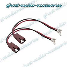 Pair of Speaker Connector Adaptor Lead Cable Plug for Fiat Punto