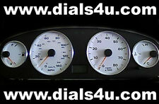FIAT BRAVA / BRAVO (1995-2001) - 140mph - WHITE DIAL KIT