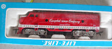 Vintage 1982 Ho Scale Life Like Campbell Soup Company Locomotive in Box 8373