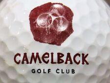 (1) Camelback Golf Club Arizona Golf Course Logo Golf Ball