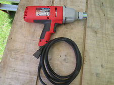 """Milwaukee 9096-20 7 Amp 5/8"""" Hex Drive Impact Wrench sweet condition"""
