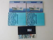 HUNGARY LOT 5 X ORIGINAL MAHART NAVY SHIP BOOKS MAGAZINE FULL FOTOS - RARE
