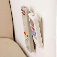 2 Sets Wall Door Self Adhesive Remote Control Sticker Holder Hook Hanger `.J Ew