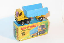 vintage Matchbox lesney near mint boxed NMIB 50 articulated truck