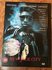 Wesley Snipes Ice T NEW JACK CITY ~ 1991 Cult Crime / Gangster Classic | UK DVD