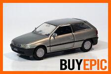 Gama 1:43 Opel Astra F Parte Trasera Aerodinámica,3 Puertas,plata,plata,