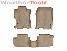 WeatherTech DigitalFit FloorLiner - 2008-2012 - Honda Accord Coupe - Tan