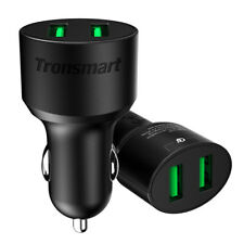 CC2TF 36W 2-Port Quick Charge 3.0 USB VoltiQ Car Charger for Samsung/Android