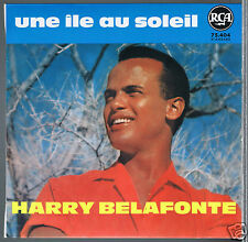 45 RPM EP FILM HARRY BELAFONTE UNE ILE AU SOLEIL / ISLAND IN THE SUN