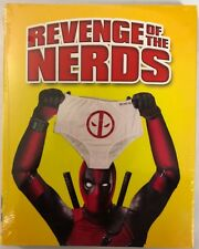 NEW REVENGE OF THE NERDS BLU RAY WALMART EXCLUSIVE + RARE DEADPOOL SLIPCOVER