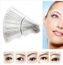 12x Eyebrow Grooming Shaping Stencil Brow Template Makeup Shaper DIY Tools Set