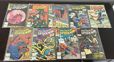 SPECTACULAR SPIDER-MAN LOT*89 TOTAL COMICS* 134-238 HIGH GRADE VF/NM AMAZING WEB