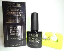 CND Shellac Gel Xpress5 Top Coat 0.25oz New With Box + BONUS ITEM! fast shipping