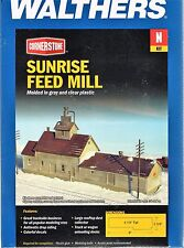 N Scale Walthers Cornerstone 933-3239 Sunrise Feed Mill Building Kit