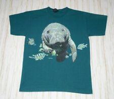 Habitat Manatee Double Sided Single Stitch 90s T Shirt Size L