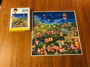 Unicef Vintage Puzzle white box Children's Games 196 pieces -all pieces