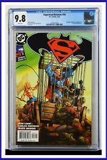 Superman Batman #16 CGC Graded 9.8 DC February 2005 White Pages Comic Book