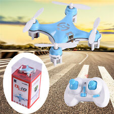 Cheerson CX-10 2.4Ghz 4CH 6-Axis GYRO Mini Nano Helicopter Quadcopter Drone Blue