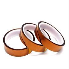 100ft 20mm 30M Kapton Tape Adhesive High Temperature Heat Resistant Polyimide u