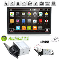 "Folding Car DVD Player 10.1"" Android 2Din Stereo GPS Navigation DVR Mirror Link"