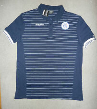 small QUEEN of the SOUTH football SHIRT polo WHITE DUMFRIES GALLOWAY