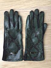 New Burberry Snakeskin Gloves