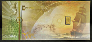 Karat Pay CASHGOLD 0.10 gram fine gold - 24k
