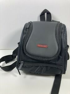 Nintendo Mini Backpack Gameboy DS 2DS 3DS Black Carrying Travel Case Used