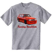 ALFA ROMEO 75 tradizione RACING-Nuovo T-Shirt grigio Cotone-Tutte le taglie in magazzino