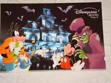 Carte Postale maison hantee parc Disney Phantom Manor Disneyland Paris NEUVE
