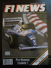 RARE UK F1 News Magazine Pre Season Update February 1994 AB