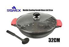 Sonex 32cm/7Litre Die Cast Premium Ceramic Coated Kadai / Karahi / Wok Cooking