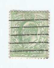 GB  KING EDWARD VII 1901-10 1/2d; Used P/M BARS s*
