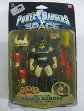 VINTAGE BANDAI 1998 SABAN'S POWER RANGERS IN SPACE BATTLIZED BLUE-NEW!!