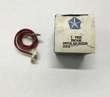 1970-75 A B C & E-Body NOS Key Buzzer Switch 2947488 Challenger Charger Cuda 71