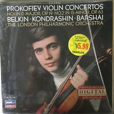 PROKOFIEV-VIOLIN CONCERTOS-BELKIN-KONDRASHIN-411 704 LONDON-ORIGINAL VINYL