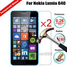 2Pcs Tempered Glass Screen Protector Film Guard For Microsoft Nokia Lumia Phone